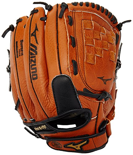 Mizuno Prospect Youth Baseball Glove, Peanut, Youth/Kids, 12