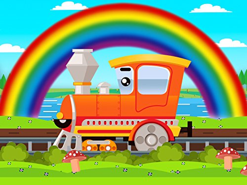 Will It Rain On Halloween (Learning colors with the Little Train and the)