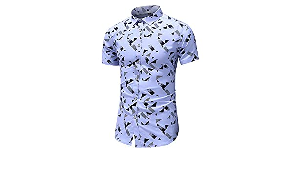 AG&T Funky Camisa Hawaiana Señores | Manga Corta | Bolsillo ...