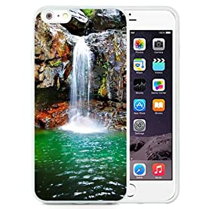 New Beautiful Custom Designed Cover Case For iPhone 6 Plus 5.5 Inch With Nature Plunge Pool Landscape (2) Phone Case
