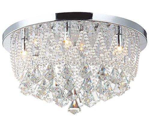 Deckenleuchte LED Badleuchte Deckenlampe Kronleuchter Beleuchtung Kristalllampe