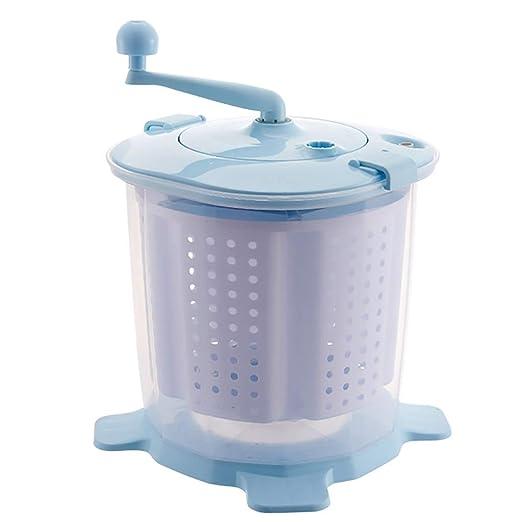 YXWxyj Lavadoras Mini máquina de Lavar manivela Lavadora, Material ...