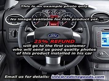 RedlineGoods Ford Focus Mk2 EUR 2004-10 cubierta del volante: Amazon.es: Coche y moto