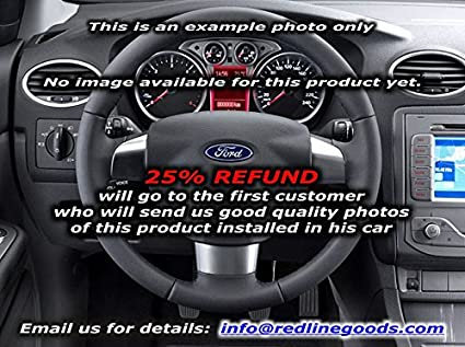 RedlineGoods Ford Focus Mk2 EUR 2004-10 cubierta del volante de