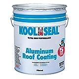 KST COATINGS  KST020496-20 Premium Aluminum Roof Coating, 5-Gallon