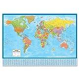 World Laminated Wall Map