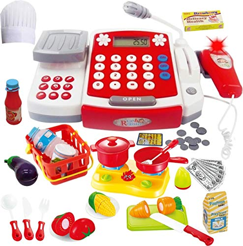 Toy Cash Register with