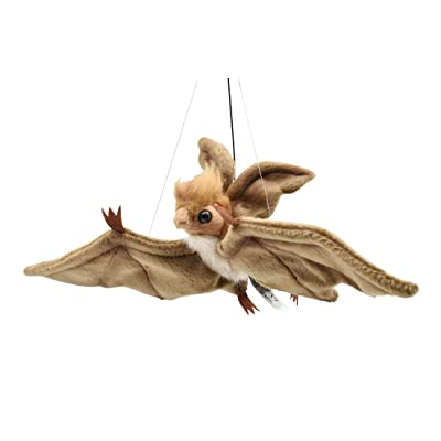 "HANSA Plush 16"" Hanging Brown Bat: Toys & Games"