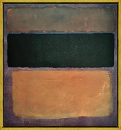 Berkin Arts Framed Mark Rothko Giclee Canvas Print Paintings Poster Reproduction (Number 10)