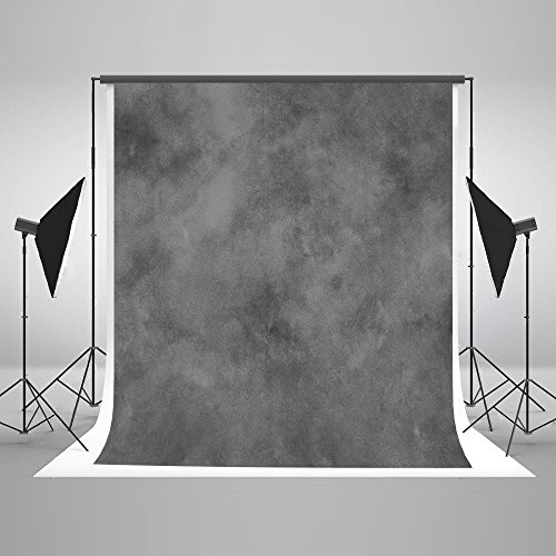 Kate 10ft(W)x10ft(H) Texture Portrait Photography Backdrops for Photographers Microfiber Black Abstract Old Master Photo Backdrop by Kate