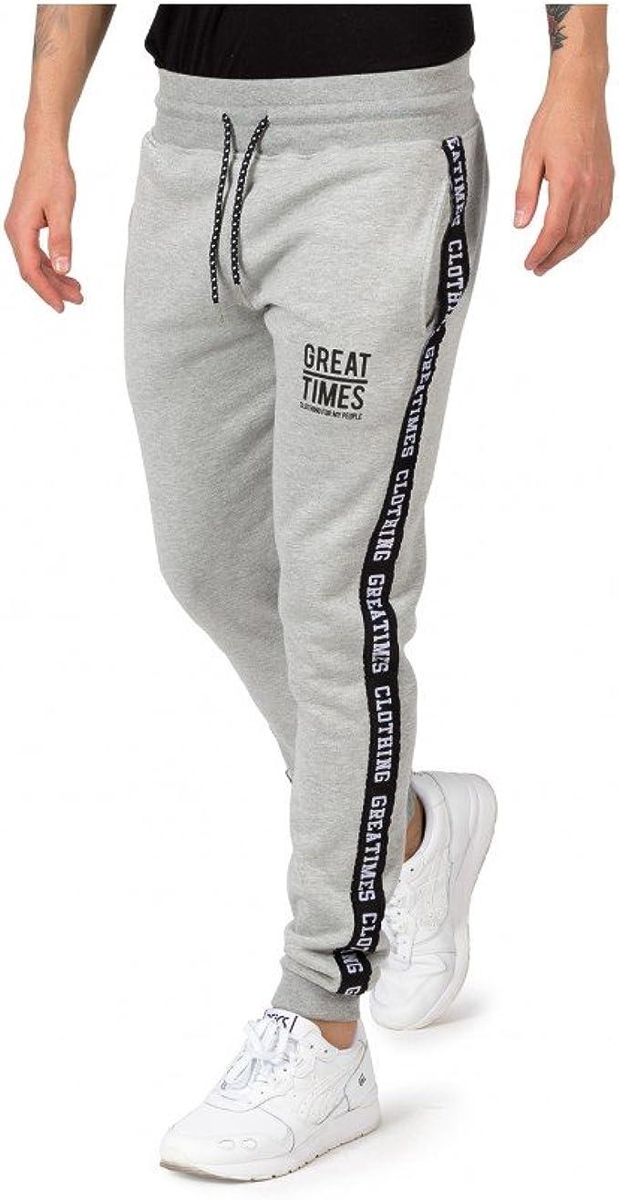 Pantalon Chandal Great Times FW17 Gris - Color - Gris, Tallas - M ...