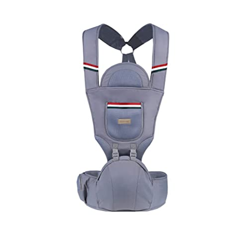 Four Seasons Multi-Functional Baby Waist Stool with Shoulder Strap Hold Baby Waist Stool with Outdoor Child Seat Carrier