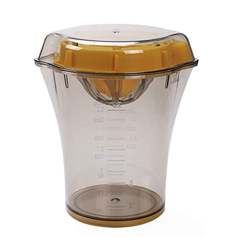 Exprimidor de Jugo de Naranja, Exprimidor de Naranja Manual - Taza de Jugo de Fruta Simple de limón -: Amazon.es