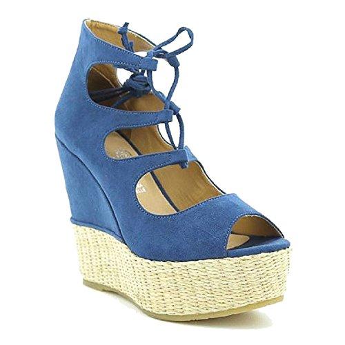 Toocool Toocool Bleu Pour Bottes Bottes Femme gzx5Uqz