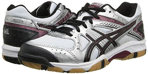 Pictures of ASICS Women's Gel 1150V Volley Ball Silver/Cardinal/Black 4