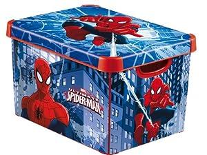 Curver Deco Marvel Spiderman Storage Box 22L