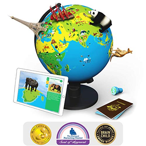 Shifu Orboot (App Based): The Educational, Augmented Reality Based Globe | STEM Toy for Boys & Girls Age 4 to 10 Years | Learning Toy Gift for Kids (No Borders and No Names on Globe) by Shifu (Image #9)