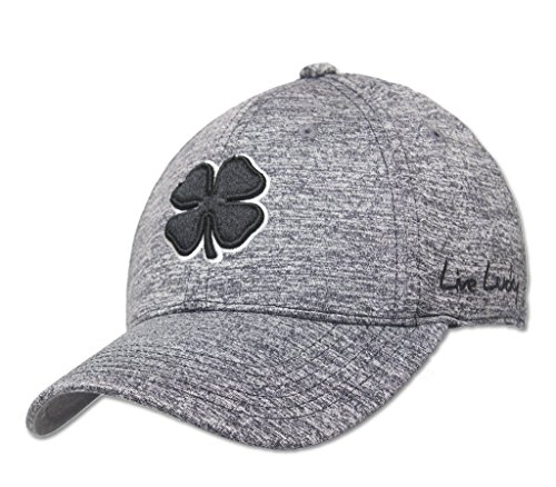 BLACK CLOVER LUCKY HEATHER HAT GOLF CAP - CHARCOAL L/XL