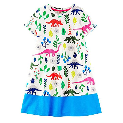 Baby Girls Dress Summer Unicorn Costume for Kids