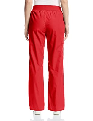 Cherokee Women's Scrubs Flexibles Midrise Pull-On Missy Fit Pant