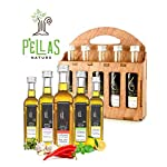 Organic Herbs Infused Greek Extra Virgin Olive Oil, 5 flavors - Basil, Lemon, Garlic, Red Pepper, Oregano in French… 10 ✅ ULTRA-PREMIUM QUALITY - Ultra Premium Extra Vigin finishing olive oil in designer French Fidji glass bottles. Product of Crete, Greece ✅ ORGANICALLY INFUSED - Infused with Fresh Organic Herbs and NOT with essential oils or any artificial flavors. No Solvents, No Pesticides , No Herbicides used in the manufacturing process ✅ UNMATCHED FLAVOR - Rich natural flavor and an increasingly authentic taste and aftertaste, characteristics sustainable over time