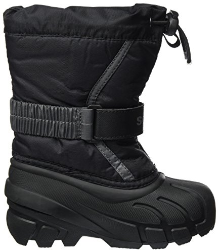 Noir Grey Mixte Flurry Neige 27 black Sorel Bottes 016 City De Eu Enfant Childrens H5vqXwX0p