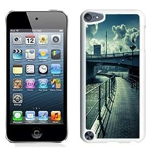 NEW Unique Custom Designed iPod Touch 5 Phone Case With Water Bridge Street View Lockscreen_White Phone Case