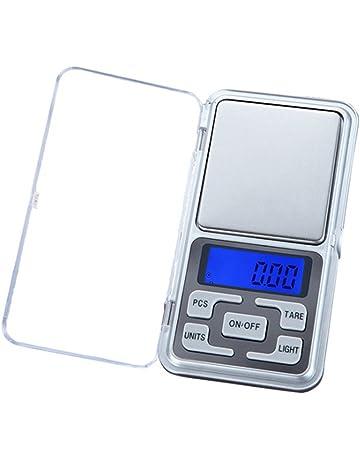 Wildlead Mini Precision Digital Electrónica Báscula portátil Peso LCD gramos joyas Cocina Herramientas