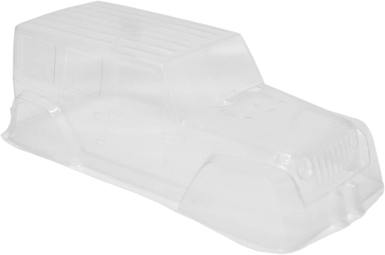 Nrpfell PVC Kletter Wagen Hart Plastik Transparent Karosserie 313 Achs Stand f/ür 1:10 RC Crawler Auto SCX10 D90 Zubeh?R