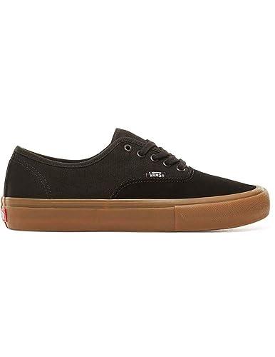 Amazon.com | Vans Authentic Pro Black Gum (8.5) | Skateboarding