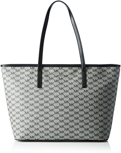Michael Kors Emry Top Zip Large Tote BLACK ()