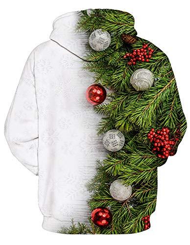 Amoma Rwballs Christmas Hoodie Hoodie Femme Amoma rnxrPqwv
