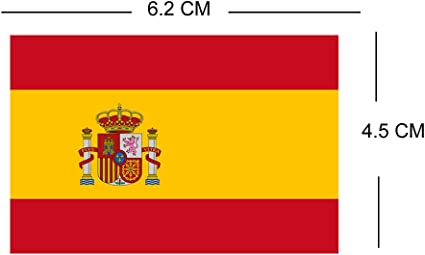 TENNER.LONDON Bandera de España de Londres para planchar en ...