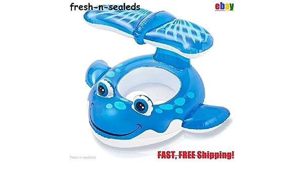 Flotador inflable bebé ballena Piscina de verano infantil juguete ...
