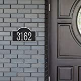 Whitehall Personalized Cast Metal Address Plaque