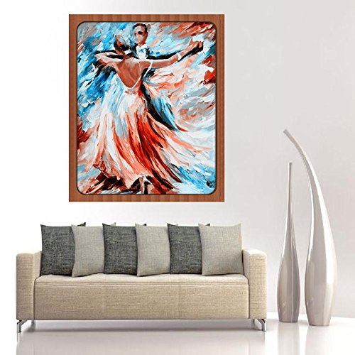 Sttech1 DIY 5D Diamond Painting by Number Kits, Classic Tango Dance Diamond Embroidery Paintings Pictures Arts Craft for Wall Stiker Home Decor (Dance) by Sttech1 (Image #3)