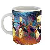 Westlake Art - Dance Choreography - 11oz Coffee Cup Mug - Abstract Artwork Home Office Birthday Christmas Gift - 11 Ounce (5431-0A222)