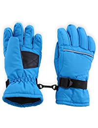 Kids Winter Snow & Ski Gloves - Youth Gloves Designed for...