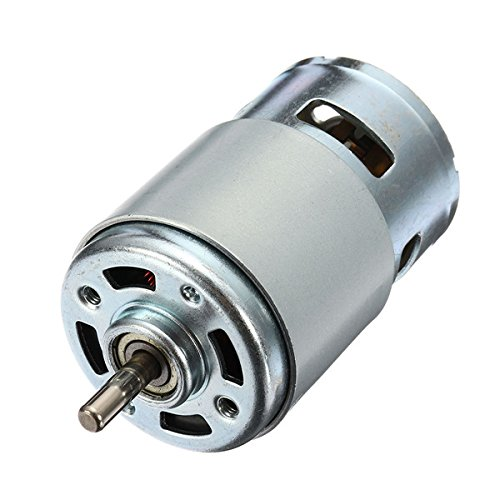 Hitommy DC 12V-24V 10000rpm 775 Motor Large Torque Motor with Ball Bearing Gear Motor by Hitommy