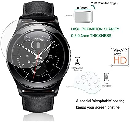 NEXTANY® cristal Protector de pantalla para Samsung Gear S2 reloj ...
