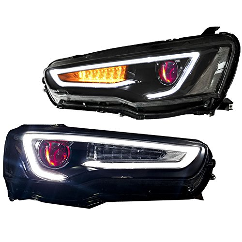 Lancer Xenon Headlights Mitsubishi Replacement Xenon
