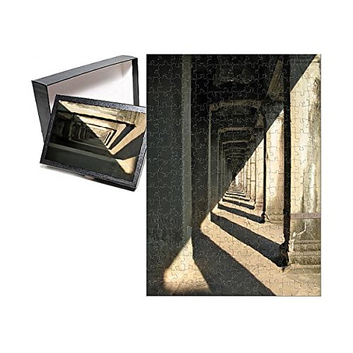 Media Storehouse 252 Piece Puzzle of Unending Gallery at Angkor Wat, Cambodia (13427659)