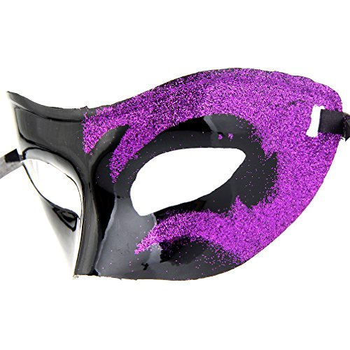 12pcs Set Evening Prom Venetian Masquerade Masks Costumes Party Accessory by IETANG (Image #8)
