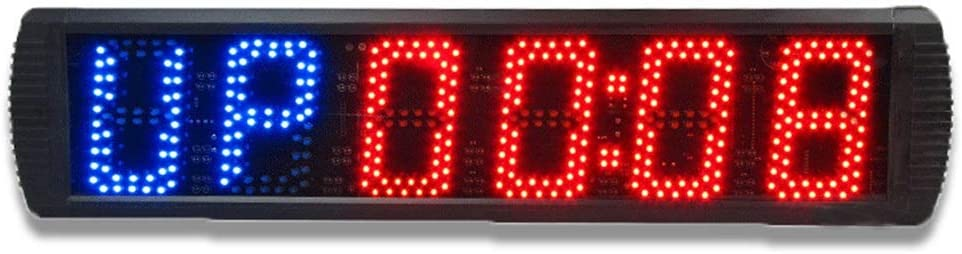 大型デジタルカウントダウン時計 教室の病院のオフィスのための遠隔壁時計のタイマーが付いている訓練のジムのストップウォッチを数える大きいデジタル間隔のタイマー スポーツタイマー デ カウントダウンクロック (色 : ブラック, サイズ : 70X16X4CM) ブラック 70X16X4CM