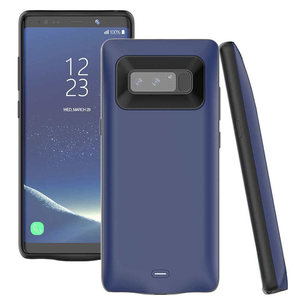 Funda Con Bateria De 5500mah Para Samsung Galaxy Note 8 Accerzone [75hv23wv]