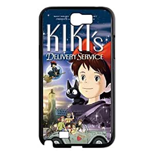 Samsung Galaxy Note 2 Black phone case Kiki's Delivery Service IKL3034943