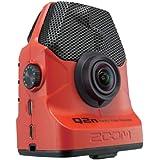 ZOOM ズーム ハンディビデオレコーダー Q2n/R レッド