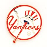 WinCraft MLB New York Yankees 55275061 Collector Pin Jewelry Card