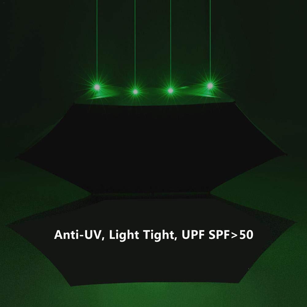 Biback Parapluies Pliantes /étanche Parasol avec poign/ée Plate pour Coupe-Vent UPF Anti-UV 50