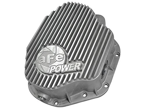 aFe Power 46-70030 Dodge Diesel Rear Differential Cover (Raw; Street Series) ()